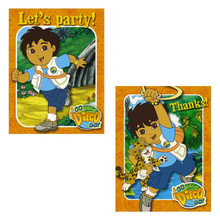 Diego Pack of 8 Invitations  with Thank You Cards