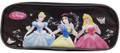 Pencil Case - Princess Aurora, Cinderella, Snow White - Black