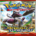 6X Pokemon Trading Cards Game Booster Pack 6 (Cover Varies) Of -  Break Through