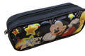 Pencil Case - Mickey Mouse - Stars - Black