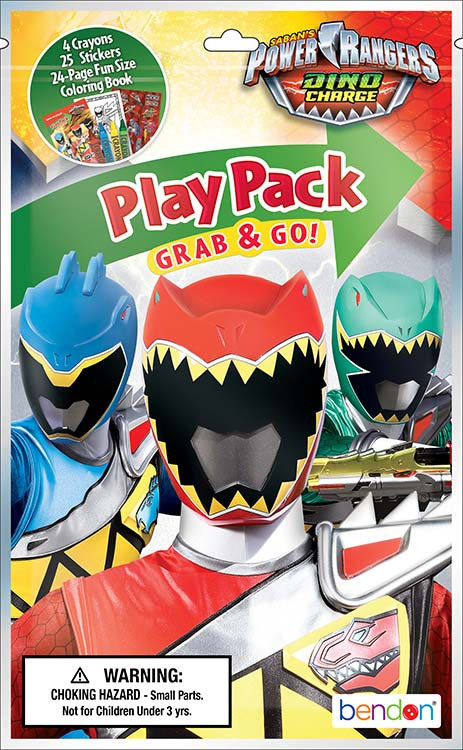 Power Rangers Dino Charge Grab and Go Grab and Go Play Pack Party Favors ( 1Pc )