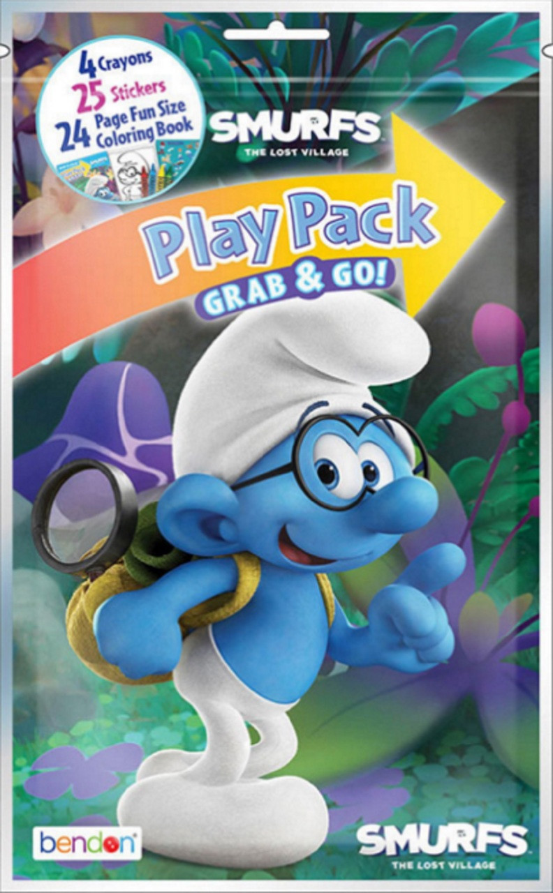 Smurfs Grab N Go Grab and Go Play Pack Party Favors - Lost Village (1 Pack)
