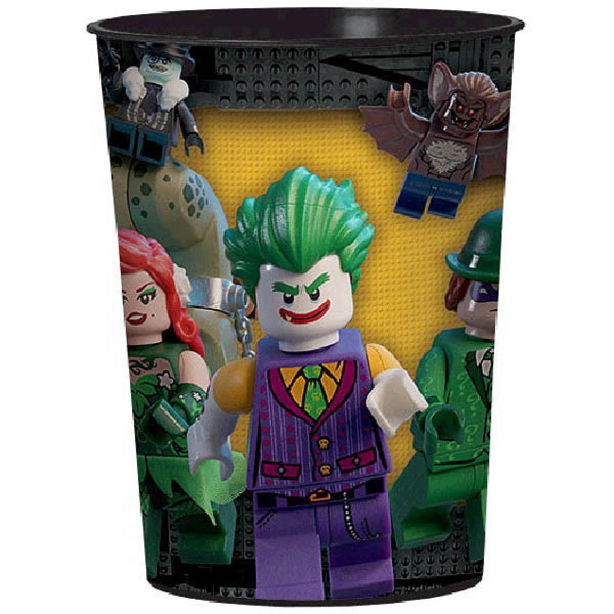 12X LEGO Batman Pack of 12 Plastic Keepsake Cups