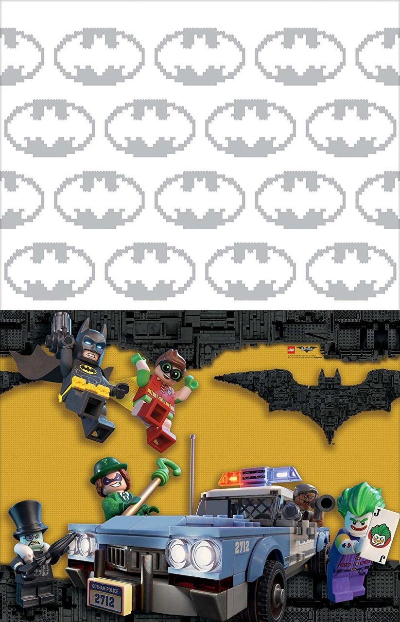 LEGO Batman Plastic Table Cover