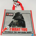 LEGO Star Wars Jumbo Reusable Tote Bag - Darth Vader