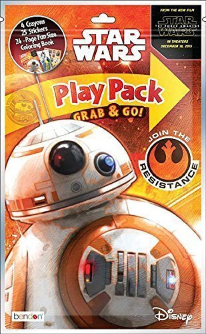 Star Wars Grab N Go Grab and Go Play Pack - Join the Resistance - BB-8