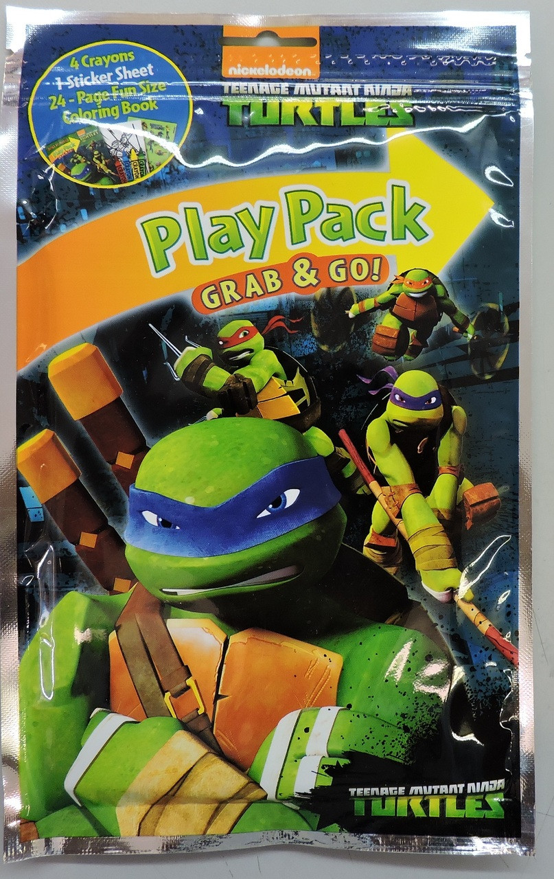 "Teenage Mutant Ninja Turtles Grab N Go Play Pack - ""Ninjas in New York"""