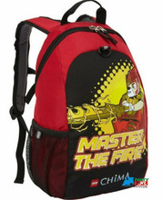 "LEGO Chima Large 16"" Basic Cloth Backpack - ""Master the Fire"""