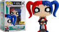 Funko Pop! Heroes DC Harley Quinn (Blue/Red) Vinyl Figure Hot Topic Ex. #121