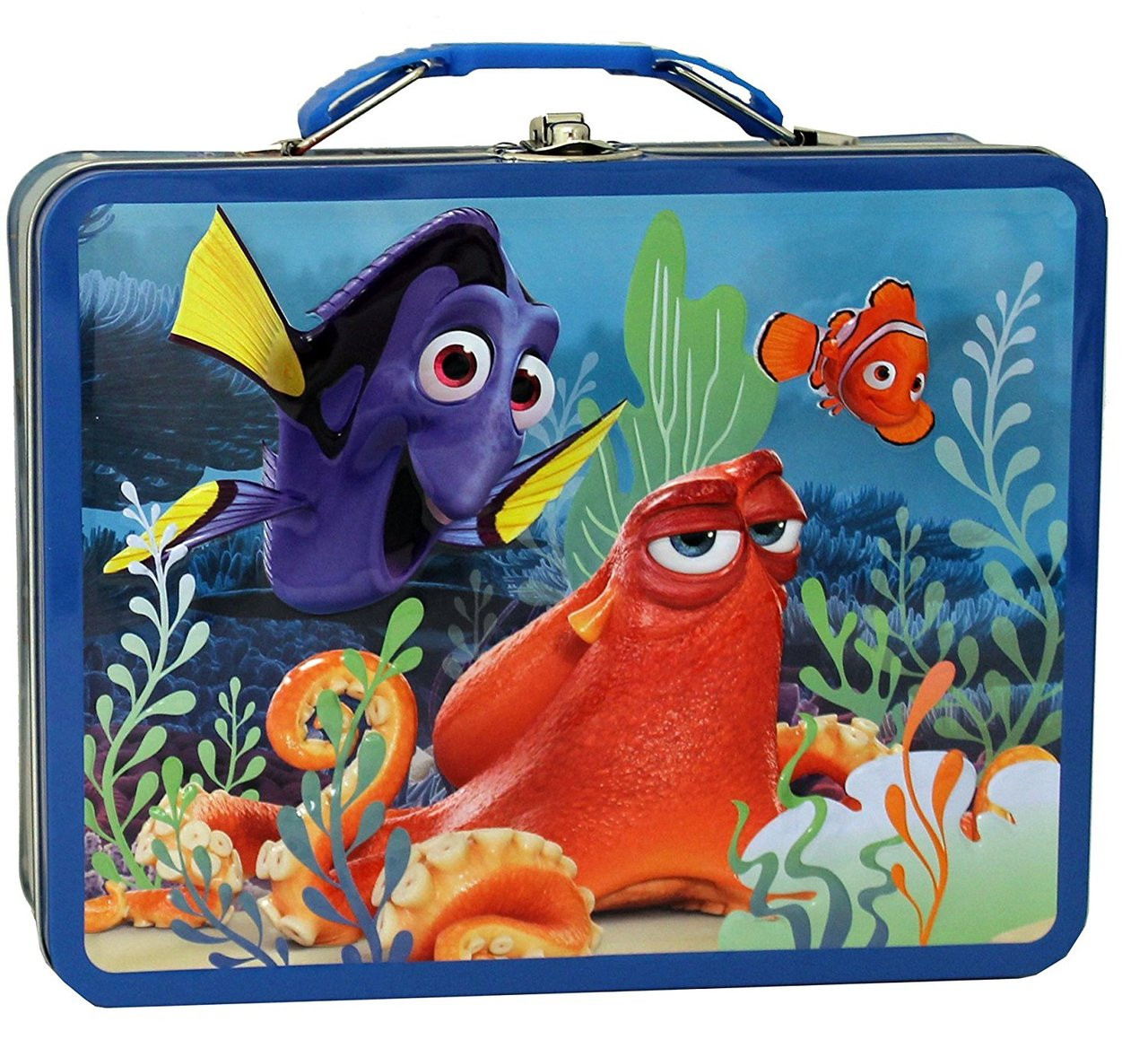 Finding Dory  Metal Tin Box - With Nemo, Dory, Octopus