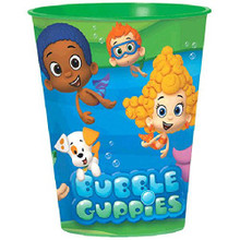 Bubble Guppies Green Plastic 16 Ounce Reusable Keepsake Favor Cup (1 Cup)