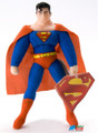 "Superman Small 9"" Plush Toy - Plastic Head"