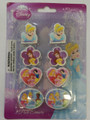 Princess Erasers 8 Pack