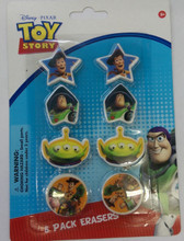 Toy Story 8pc Eraser Pack