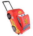 Disney's Cars Large 17 Inch Rolling Luggage Bag - Lightning McQueen