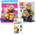 Minions Pink Cloth String Bag/Book Mischievous/Grab and Go Play Pack For Girls