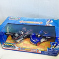 Sonic All Stars Racing Pull Back Action Sonic and Shadow