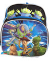 "Toy Story Buzz Woody Small Toddler 12"" Cloth Backpack Book Bag Pack"