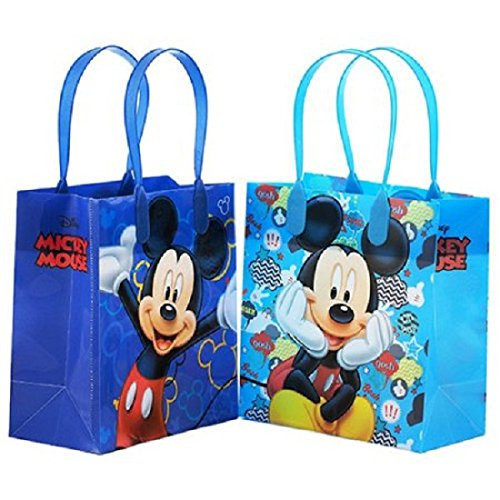 Mickey Mouse Party Favor Goodie Small Gift Bags 12