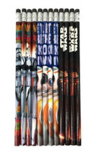 Star Wars Wooden Pencils Pack of 12