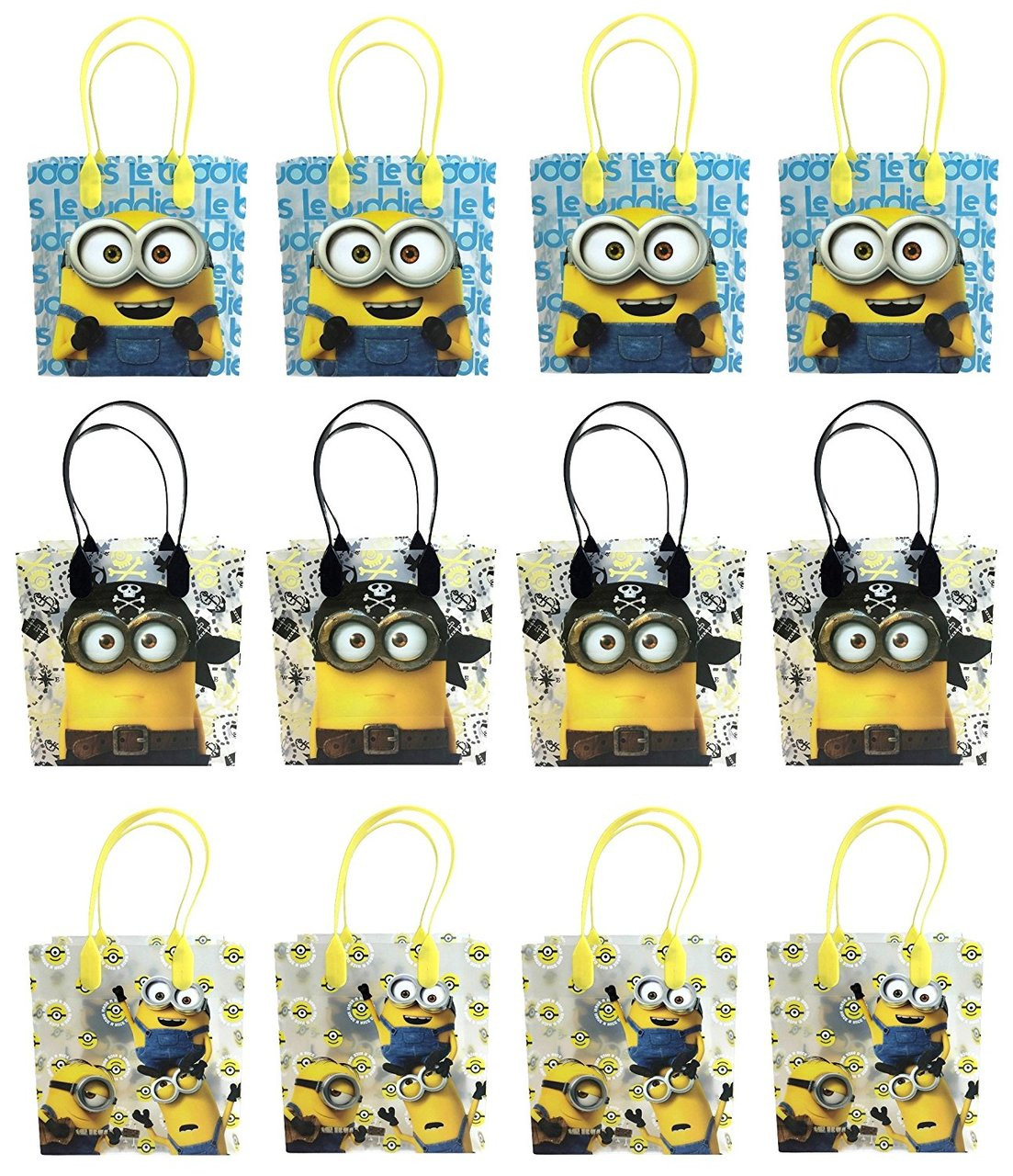 Minions Party Favor Goodie Small Gift Bags