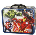 Avengers Assemble Large Carry All Embossed Tin - Blue Border