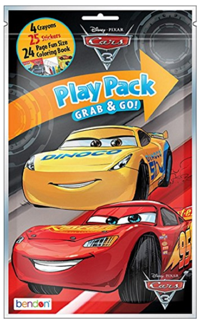 Cars 3 Party Grab N Go Play Pack Favors Style 2 (1 pack)