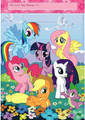 My Little Pony Plastic Loot Bags Favor Sacks Gift - 5 Ponies