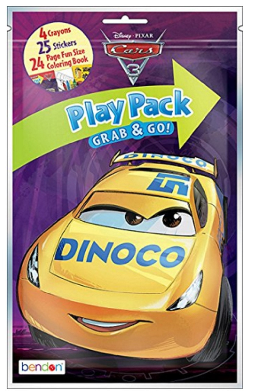 Cars 3 Party Grab N Go Play Pack Favors Style 3 (1 pack)