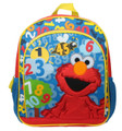 Elmo Count With Me 12 inch Backpack