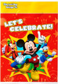Mickey Mouse Plastic Loot Bags - Red