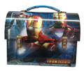 Iron Man 2 Dome Tin School Lunch Box - Blue