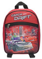 "Cars Small Toddler 10"" Cloth Backpack - Red"