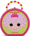 Lalaloopsy Round Tin Carry All Hatbox - Jewel Sparkles