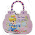 Princess Cinderella Carry All Tin Satchel Purse with Beaded Handle