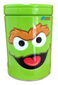 Oscar the Grouch Rounded Tin Coin Bank - Green