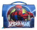 Spiderman Workman's Dome Tin Box - Blue