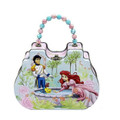 Princess Ariel Little Mermaid Tin Box Carry All Clutch Purse - Prince