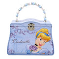 Princess Cinderella Carry All Tin Clutch Purse with Beaded Handle