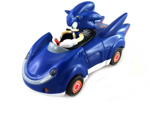 Sonic All Stars Racing Pull Back Action - Sonic