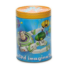 """Toy Story Round Tin Coin Bank - """"Look Out!"""""""