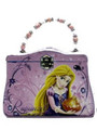 Princess Rapunzel Tangled Tin Purse Carry All Purse - Pink