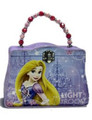 Princess Rapunzel Tangled Tin Purse Carry All Purse - Purple