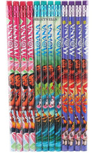 Disney Moana Wooden Pencils Pink/Green/Purple Pack of 12