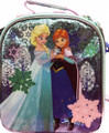 Frozen Ice Princess Anna Elsa Cloth Insulated Lunch Bag - Teal