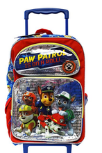 Paw Patrol Large 16 Inch Rolling Backpack - Is On a Roll