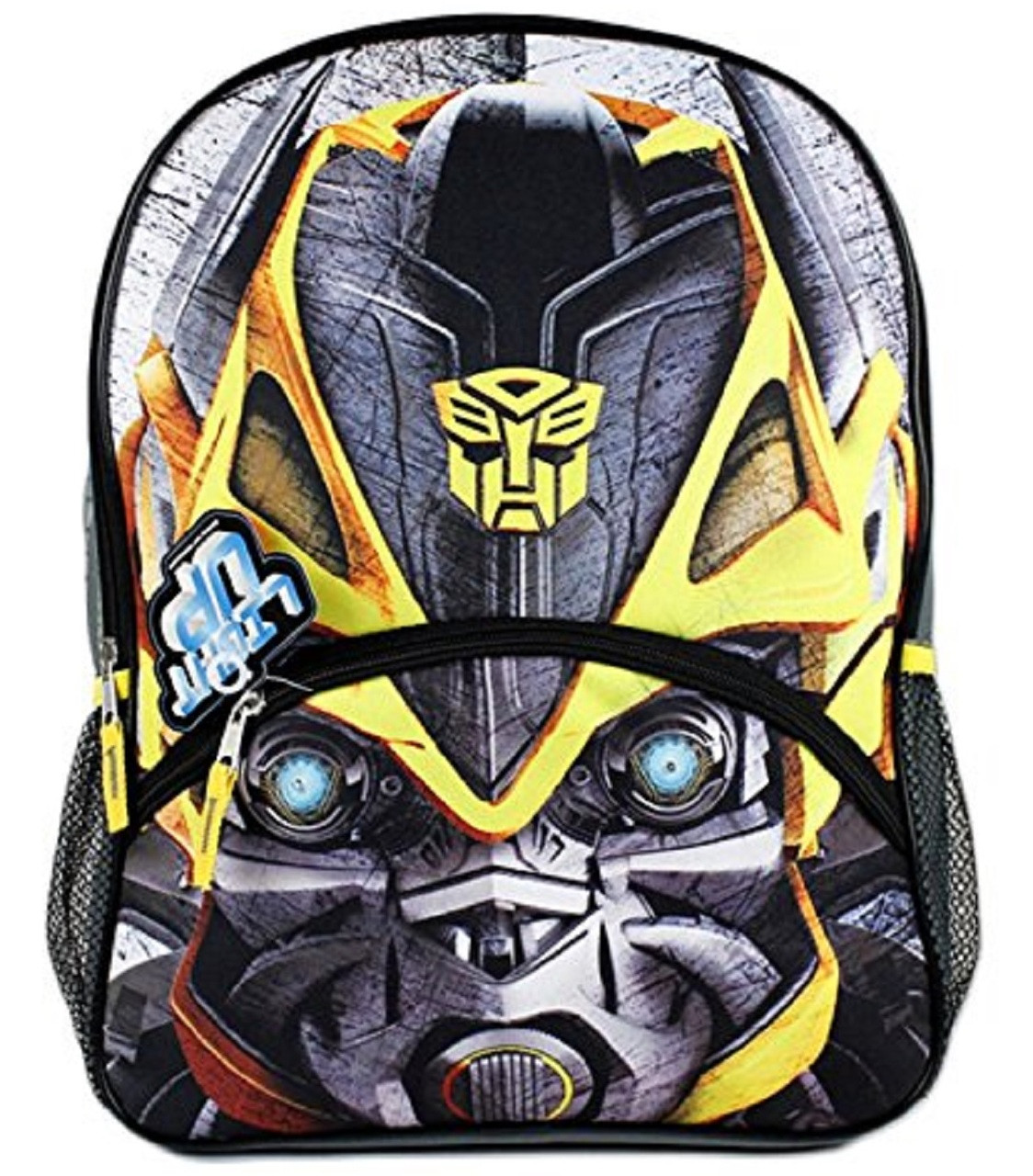 Transformers Bumblebee Face Large Backpack