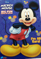 Mickey Mouse Jumbo 96 pg Coloring and Activity Book - Blue