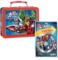 Avengers Assemble Square Tin with Play Pack