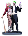 DC Collectibles Suicide Squad The Joker and Harley Quinn Statue